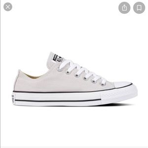 Converse all star light grey sneaker